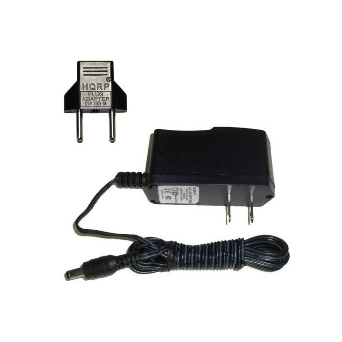 HQRP 9V AC Adapter / 9-Volt Adaptor for Jim Dunlop Kirk Hammett Signature  Cry Baby Wah Wah KH95 / Slash Cry Baby Classic Wah Wah SC95 Guitar Effects