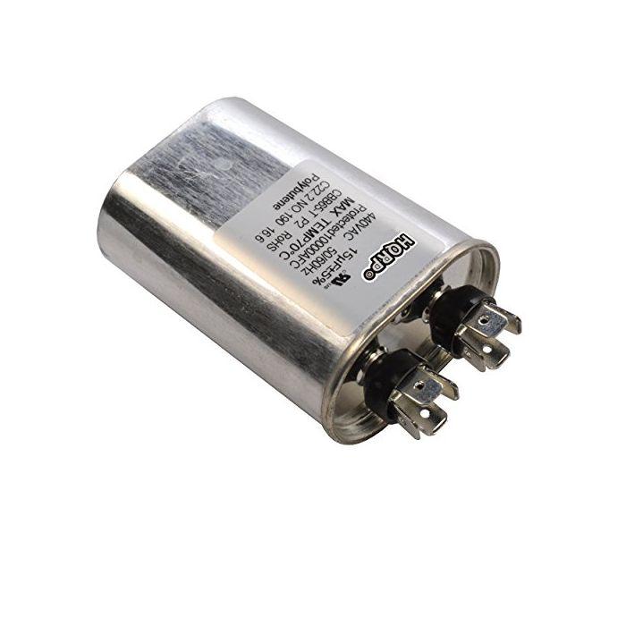 HQRP 40uF 370-440V Running Capacitor AC Electric Motor HVAC Blower Compressor