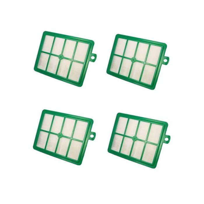 HQRP Filter 4-Pack for Electrolux EL7055A 7055A EL7061B 7061B UltraSilencer EL7057A 7057A EL7066A 7066A Vac Vacuum Cleaner EL7061A 7061A EL7060A 7060A