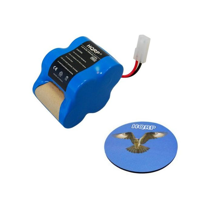 HQRP Rechargeable Battery 4 8v 2 0Ah for Euro-Pro Shark Sweeper VX1 / X8905  / V1930 / V1700Z Cordless Floor-and-Carpet Cleaner Replacement plus HQRP