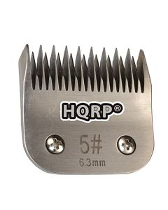 HQRP Size-5 Animal Clipper Blade for Wahl KM Series KM-1 KM-2 KM-5 KM-10 ProFicient Rapid-Fire Storm Storm-II Pet Grooming + HQRP Coaster
