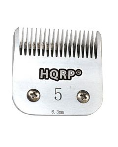 HQRP Size-5FC Animal Clipper Blade for Oster A5, A-5 Turbo 2-Speed 078005-314-002, Golden A5, Turbo A5 Pet Grooming + HQRP Coaster