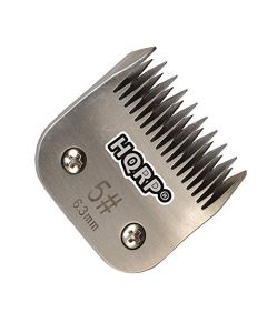 HQRP Size-5 Animal Clipper Blade for Oster A5, A-5 Turbo 2-Speed 078005-314-002, Golden A5, Turbo A5 Pet Grooming + HQRP Coaster