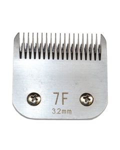 HQRP Animal Clipper Blade Size 7F (Finish) for Pet Grooming - Body work on Sporting Breeds, Terriers, Pet Poodles, Cocker Spaniels, Unmatted Cats + HQRP Coaster