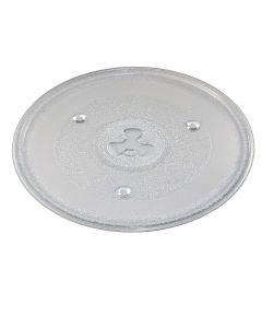 HQRP 10-1/2 inch Glass Turntable Tray for Chefmate 252100500497 WP700AP20 Microwave Oven Cooking Plate 270mm + HQRP Coaster