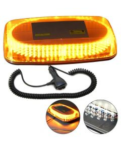 HQRP Amber Warning Emergency Truck 240-LED Snow Plow Safety Strobe Minilight Bar plus HQRP Coaster