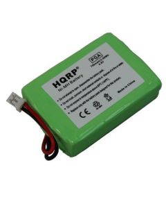 HQRP Battery compatible with Sportdog DC-25 SDT00-11908 650-052 KINETIC MH750PF64HC Replacement plus HQRP Coaster