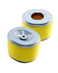 HQRP 2-pack Air Filter Element Combo for Honda EG3500 EG3500X EG3500XK1 EN3500 EZ3500 Generator / Honda FR800 Rottotiller + HQRP Coaster