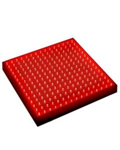 "HQRP New 12"" Square LED Grow Light System 225 Red LED 14W + Hanging Kit + HQRP UV Meter"