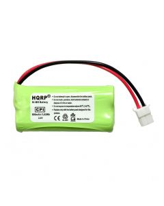 HQRP Phone Battery for VTech CS6529-2 CS6649 CS6649-2 CS6719 CS6719-2 DS6501 Cordless Telephone + HQRP Coaster