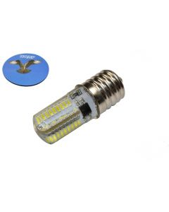 """HQRP 110V 5/8"""" Base #2SCW Screw-In Sewing Machine LED Light Bulb Cool White for 195148, 8SCW Replacement plus HQRP Coaster"""