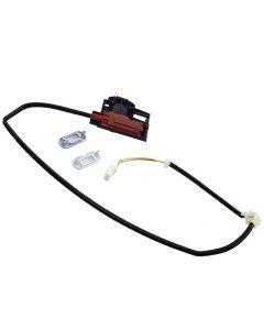 HQRP Lid Lock Latch Switch Assembly Replacement for Whirlpool WTW4700YQ0 WTW4800XQ1 WTW4800XQ2 WTW4850BW1 WTW4900AW0 WTW4910XQ3 WTW4930XW1 WTW4950XW0 WTW4950XW1 plus HQRP Coaster