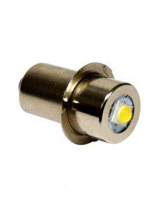 HQRP High Power Upgrade Bulb 3W LED 100LM 7-30V for Ryobi FL1800 / Ridgid R849 Flashlight 7817502 780204001 780175002 780175003 780036001 + HQRP Coaster