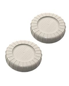 HQRP 2pcs Bottle Fill Cap for Kenmore 758.141060 758.141062 758.14160 758.144070 758.144071 758.144105 758.144106 758.144107 758.144108 758.144170 758.144171 758.144150 758.144151 Humidifier +Coaster