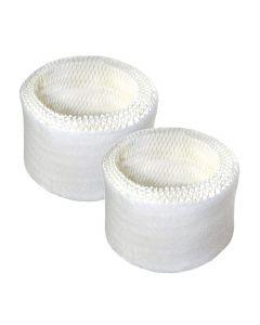 HQRP 2-pack Wick Filter for Duracraft / Robitussin DH-835 DH835 DA1000 Humidifiers, AGW-835 AGW835 HAC504 Replacement + HQRP Coaster