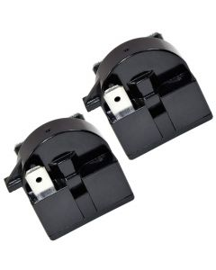 HQRP 2-Pack QP2-4R7 4.7 Ohm 3-Pin PTC Starter Start Relay for EdgeStar VBR Series Compressor Relay Replacement fits EdgeStar VBR240 VBR440 VBR640 plus HQRP Coaster
