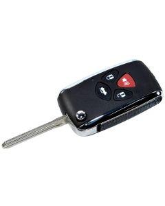 HQRP Flip Key Fob Keyless Entry Replacement for Toyota Avalon Camry RAV4 Corolla Venza Yaris Matrix 2006 2007 2008 2009 2010 2011 plus HQRP UV Meter