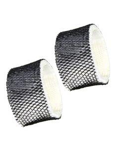 HQRP 2-pack Wick Filter for Sunbeam SCM1100 SCM1701 SCM1702 SCM1761 SCM1762 SCM2409 SCM41000 Humidifiers, SF212 / SF212PDQ-UM / HWF62 / SWF62 Filter A Replacement + HQRP Coaster
