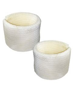HQRP 2-pack Wick Filter for Emerson MoistAIR MAF2 MAF-2; MA-0600, MA-0601, MA-0800, MA08000 Humidifier + HQRP Coaster