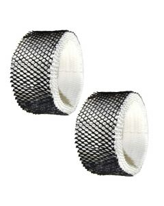 HQRP 2-pack Wick Filter for Hamilton Beach 05518, 05519 Humidifiers, # 05910 Replacement + HQRP Coaster