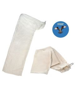HQRP Dust Collector Bag (2-pack) for DW745, DW744, DW744X, DWE7491RS, DWE7480, 745, 744, 744x, 7480, 7491 10-inch Tablesaws / Planers+ HQRP Coaster