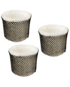 HQRP Filter 3-pack for Bionaire BWF64CS BWF64CS BCM1745 BCM1745-C BCM2200 Humidifier + HQRP Coaster