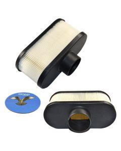 HQRP 2-pack Air Filter for John Deere X300 X300R X304 X310 X320 X324 X340 X360 X500 X530 X534 S240 636M 648M 652M Lawn Tractor + HQRP UV Meter