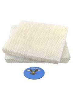 HQRP 2-pack Wick Filter for Hunter 35617, 36516, 36517, 36518, 36316, 36317 Cool Mist Humidifiers, 31949 31947 HN1949 Replacement + HQRP Coaster