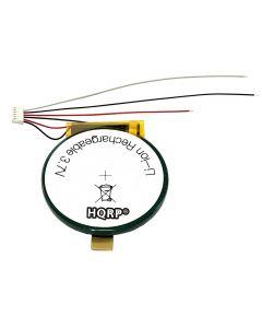 HQRP 300mAh Battery +Wires for Garmin Forerunner 405 405CX 410 Sport Watch 361-00034-00 PD3048 + HQRP Coaster