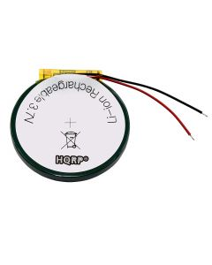 HQRP Battery for PD3555 Garmin Fenix 1, Fenix 2, Tactix GPS Watch 361-00061-00 3.7V 500mAh + Coaster