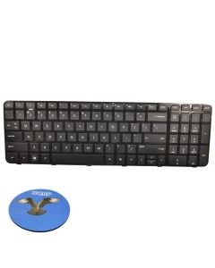 HQRP Keyboard for HP 697452-001 / 699497-001 / 684650-001 Replacement plus HQRP Coaster