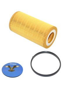 HQRP Oil Filter for Audi A3 2006 2007 2008 06 07 08 Audi TT 2008 2009 08 09 plus HQRP Coaster