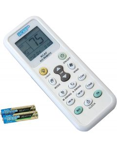 HQRP Universal Remote Control for Fedders AZ7Y12F7A AZ7Y15F2A AZ7Y18F7A AZER24E7A AZET12W7A AZEY08F2A AZEY12F7A Air Conditioner