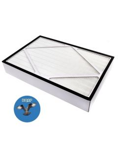 HQRP True HEPA Filter for Hamilton Beach 04162, 04163, 04152 Air Purifiers, part 04913 Replacement + HQRP Coaster