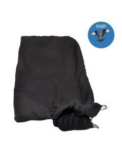 HQRP Dust Bag for Hitachi C10FA C10FB C15FB C10FCB C10FCE C10FCE2 C10FCH C10FCH2 C10FS C10FSB C10FSH 10-inch Miter Saws + HQRP Coaster