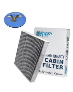 HQRP Carbon A/C Cabin Air Filter for Lexus CT200h 2011-2015 ; ES350 ES300h 2007-2017 ; HS250h 2010-2012 ; LS460 LS600h 2007-2015 plus HQRP Coaster