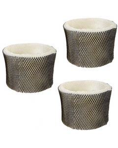 HQRP 3-pack Wick Filter for Kenmore KM3855C, 04907 Humidifiers + HQRP Coaster