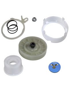 HQRP Cam Clutch Kit for Maytag 4KMVWC215FW0, 4KMVWC315FW0, 4KMVWC415FW0, 4KMVWC425FW0, 7MMVWC100DW1, 7MMVWC100DW2, 7MMVWC200DW1 Washer Drive Pulley + HQRP Coaster