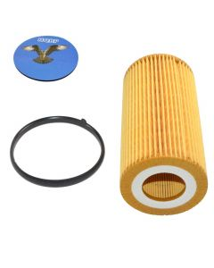 HQRP Oil Filter for Volkswagen VW Passat 2006 2007 2008 2012 2013 2014 06 07 08 12 13 14 plus HQRP Coaster