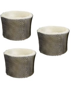 HQRP Filter 3-pack for Bionaire BWF75 SWF75 BWF1500-UC H75 HWF-75 W12 W14 W15 BCM3955 BCM3855 BCM3600 BCM3656 Humidifier + HQRP Coaster