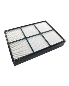 HQRP True HEPA Filter for Hunter 30936 QuietFlo fits 30085, 30090, 30095, 30105, 30117, 30119, 30130, 36117, 36127, 36095, 37090, 30197, 30999, 30058, 30936 Air Purifiers + HQRP Coaster