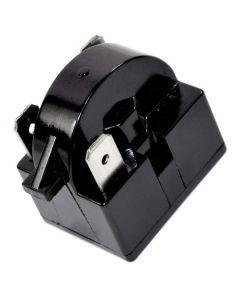 HQRP QP2-4R7 4.7 Ohm 3-Pin PTC Starter Start Relay Replacement for Sunbeam SBCR033B1W Compact Refrigerator plus HQRP Coaster