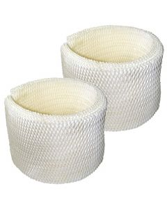 HQRP 2-pack Wick Filter for Kenmore Sears MAF2, EF2, 15508, 03215508000, 32.15508, 42.15508, 32-15508, 42-15508; 15408, 154080, 17006, 29706, 29988, 29880C Humidifier + HQRP Coaster