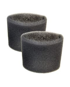 HQRP 2-Pack Foam Sleeve Filter compatible with Shop-Vac Wet Dry Vacuums 5-Gallon and Above Type R 90585 9058500 905-85-00 905-85 Replacement