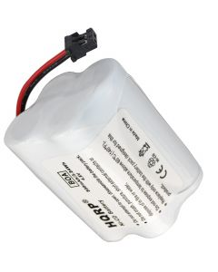 HQRP Battery for Uniden SPORTCAT SC-180 SC180 SC-200 SC200 Scanner plus HQRP Coaster