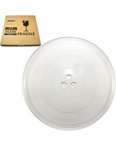 HQRP 12-inch Glass Turntable Tray fits Maytag W10337247 W11367904 AMV1150VAB4 AMV1150VAD3 AMV1150VAD4 AMV1150VAQ3 AMV2174VAD6 Microwave Oven Cooking Plate 305mm