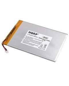 HQRP Battery fits RCA Cambio 10.1 W101SA23T1 Tablet 3.7v 4Ah 4000mAh + Coaster