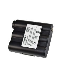 HQRP Battery for Midland GXT700VP4, GXT710VP3 GXT750VP3, GXT800VP4, GXT850VP + HQRP Coaster