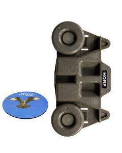 HQRP Wheel for Whirlpool WDF760SADT1 WDF770SAFZ0 WDF775SAYB0 WDF780SLYB0 WDL785SAAM0 WDT750SAHB0 WDT780SAEM0 WDT790SAYB0 WDT910SAYE0 WDT910SAYH2 Dishwasher Dishrack Roller Dish Rack + Coaster