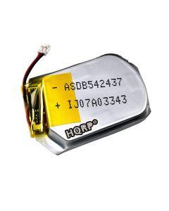 HQRP Battery for 361-00098-00 361-00097-00 Garmin Fenix 5 Fenix 5S Fenix 5X GPS Watch + Coaster